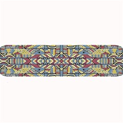 Multicolor Abstract Large Bar Mats by dflcprintsclothing