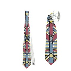 Multicolor Abstract Neckties (Two Side)  by dflcprintsclothing