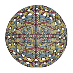 Multicolor Abstract Ornament (round Filigree)  by dflcprintsclothing