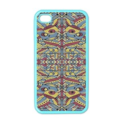 Multicolor Abstract Apple Iphone 4 Case (color) by dflcprintsclothing