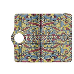 Multicolor Abstract Kindle Fire Hdx 8 9  Flip 360 Case by dflcprintsclothing