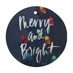 MerryBright - Ornament (Round)