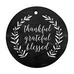 Thank GrateBlesses - Ornament (Round)