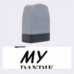 Dandie Dinmont Love Name Stamps by TailWags