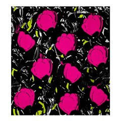 Pink Roses  Shower Curtain 66  X 72  (large)  by Valentinaart