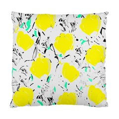 Yellow Roses 2 Standard Cushion Case (one Side) by Valentinaart