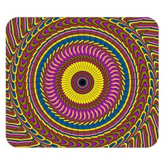 Ornament Mandala Double Sided Flano Blanket (small)  by designworld65