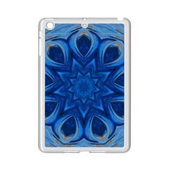Blue Blossom Mandala Ipad Mini 2 Enamel Coated Cases by designworld65