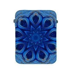 Blue Blossom Mandala Apple Ipad 2/3/4 Protective Soft Cases by designworld65