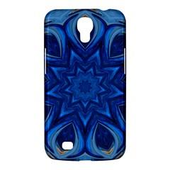 Blue Blossom Mandala Samsung Galaxy Mega 6 3  I9200 Hardshell Case by designworld65