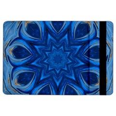 Blue Blossom Mandala Ipad Air 2 Flip by designworld65