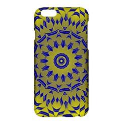 Yellow Blue Gold Mandala Apple Iphone 6 Plus/6s Plus Hardshell Case by designworld65