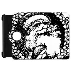 Santa Claus Christmas Holly Kindle Fire HD Flip 360 Case by Zeze
