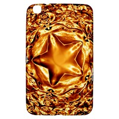 Elegant Gold Copper Shiny Elegant Christmas Star Samsung Galaxy Tab 3 (8 ) T3100 Hardshell Case  by yoursparklingshop