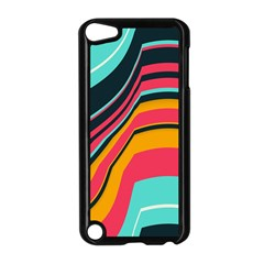 Bent Waves                                                                                                       apple Ipod Touch 5 Case (black) by LalyLauraFLM