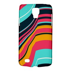 Bent Waves                                                                                                       			samsung Galaxy S4 Active (i9295) Hardshell Case by LalyLauraFLM