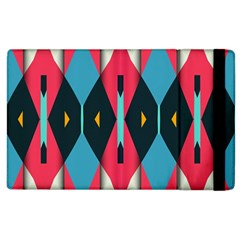 Triangles Stripes And Other Shapes                                                                                                        apple Ipad 2 Flip Case by LalyLauraFLM