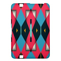 Triangles Stripes And Other Shapes                                                                                                        kindle Fire Hd 8 9  Hardshell Case by LalyLauraFLM