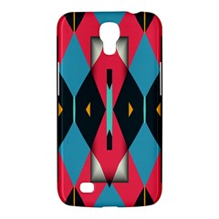 Triangles Stripes And Other Shapes                                                                                                        samsung Galaxy Mega 6 3  I9200 Hardshell Case by LalyLauraFLM