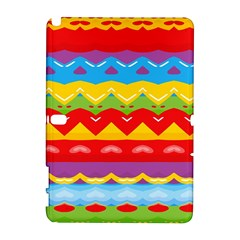 Colorful waves                                                                                                          Samsung Galaxy Note 10.1 (P600) Hardshell Case by LalyLauraFLM