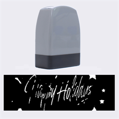 Happy Holidays Name Stamps by Valentinaart