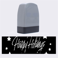 Happy Holidays 2  Name Stamps by Valentinaart