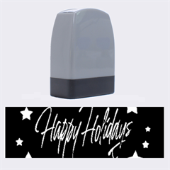 Happy Holidays 4 Name Stamps by Valentinaart