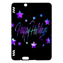 Happy Holidays 6 Kindle Fire Hdx Hardshell Case by Valentinaart