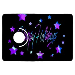 Happy Holidays 6 Kindle Fire Hdx Flip 360 Case by Valentinaart