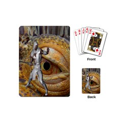 Dragon Slayer Playing Cards (mini)  by icarusismartdesigns