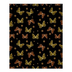 Insects Motif Pattern Shower Curtain 60  X 72  (medium)  by dflcprints