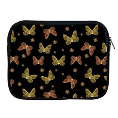 Insects Motif Pattern Apple iPad 2/3/4 Zipper Cases by dflcprints