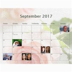 Shokov Calendar 2017 By Tania   Wall Calendar 11  X 8 5  (12 Months)   Ms12jytxky6w   Www Artscow Com Sep 2017