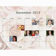 Shokov Calendar 2017 By Tania   Wall Calendar 11  X 8 5  (12 Months)   Ms12jytxky6w   Www Artscow Com Nov 2017