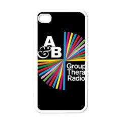 Above & Beyond  Group Therapy Radio Apple Iphone 4 Case (white) by Onesevenart