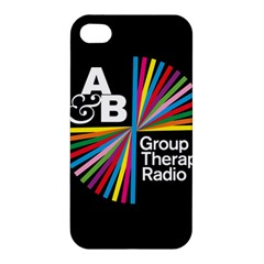 Above & Beyond  Group Therapy Radio Apple Iphone 4/4s Premium Hardshell Case by Onesevenart