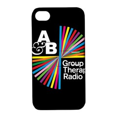 Above & Beyond  Group Therapy Radio Apple Iphone 4/4s Hardshell Case With Stand by Onesevenart