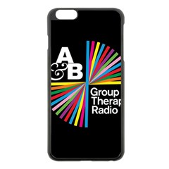 Above & Beyond  Group Therapy Radio Apple Iphone 6 Plus/6s Plus Black Enamel Case by Onesevenart