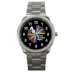 Above & Beyond  Group Therapy Radio Sport Metal Watch by Onesevenart