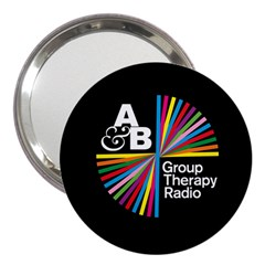 Above & Beyond  Group Therapy Radio 3  Handbag Mirrors by Onesevenart