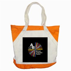 Above & Beyond  Group Therapy Radio Accent Tote Bag by Onesevenart