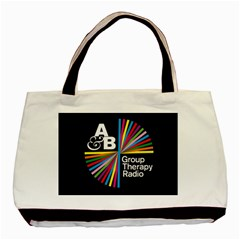 Above & Beyond  Group Therapy Radio Basic Tote Bag (two Sides) by Onesevenart