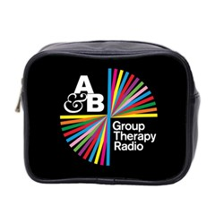 Above & Beyond  Group Therapy Radio Mini Toiletries Bag 2 Side by Onesevenart