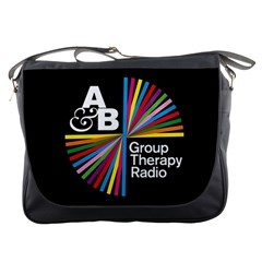 Above & Beyond  Group Therapy Radio Messenger Bags by Onesevenart