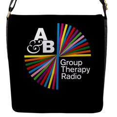 Above & Beyond  Group Therapy Radio Flap Messenger Bag (s) by Onesevenart