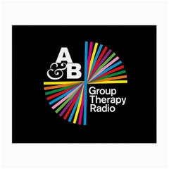 Above & Beyond  Group Therapy Radio Small Glasses Cloth (2 Side) by Onesevenart