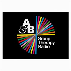 Above & Beyond  Group Therapy Radio Large Glasses Cloth (2 Side) by Onesevenart