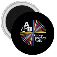 Above & Beyond  Group Therapy Radio 3  Magnets by Onesevenart