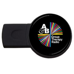 Above & Beyond  Group Therapy Radio Usb Flash Drive Round (2 Gb)  by Onesevenart