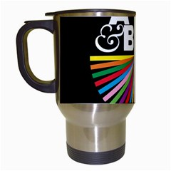 Above & Beyond  Group Therapy Radio Travel Mugs (white) by Onesevenart